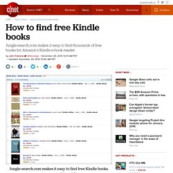 How to find free Kindle books