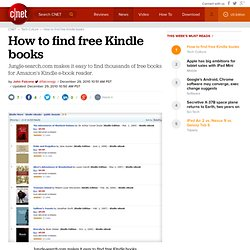 How to find free Kindle books | Crave - CNET