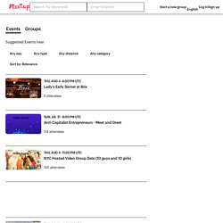 Find Meetup groups near you