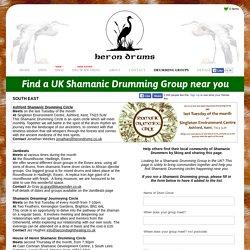Find a Shamanic Drumming Group near you - Shamanic Drumming UK