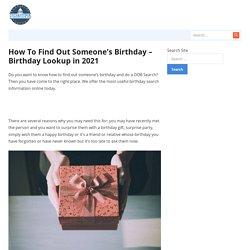 Birthday finder