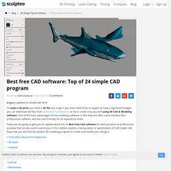 Find the Best Free CAD Software