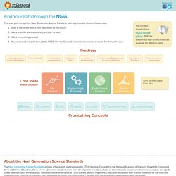 Find Your Path through the NGSS