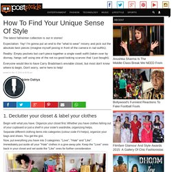 How To Find Your Unique Sense Of Style