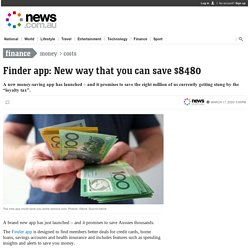 Finder app: New way that you can save $8480