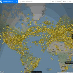 Plane Finder | Flight Radar | Live Flight Tracking