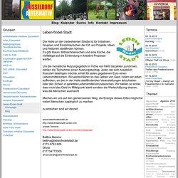 Leben-Findet-Stadt - Düsseldorf Alternativ