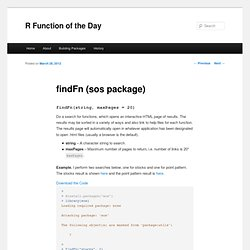 findFn (sos package)