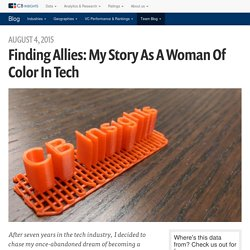 Finding Allies: My Story as a Woman of Color in Tech