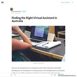 Finding the Right Virtual Assistant in Australia