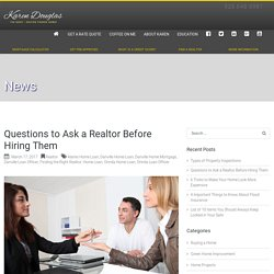 Finding the Right Realtor - Danville Loan Officer - Danville Home Mortgage