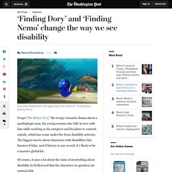 'Finding Dory' and 'Finding Nemo' change the way we see disability
