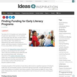 Finding Early Literacy Grants