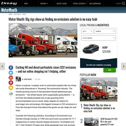 Motor Mouth: Big rigs show us finding an emissions solution is no easy task