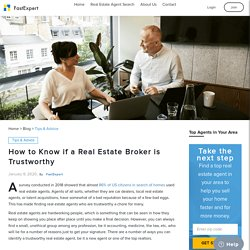 Finding Real Estate Agents – To Trust or Not to Trust?