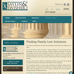 Factors to Note When You Hire a Family Law Attorney