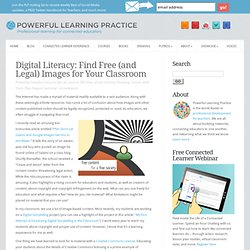 Finding Free Images for Your Classroom
