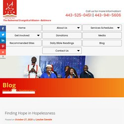 Finding Hope in Hopelessness