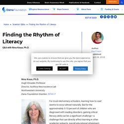 Finding the Rhythm of Literacy