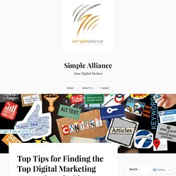 Top Tips for Finding the Top Digital Marketing Agency in Nairobi Kenya – Simple Alliance