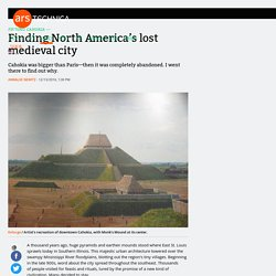 Finding North America's lost medieval city