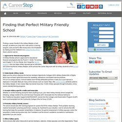 Mil Spouses! Pursue Your Dream Career with Military-Friendly Schools!