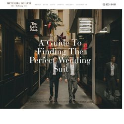 Guide To Finding The Perfect Wedding Suit