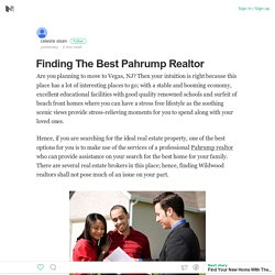 Pahrump Realtor