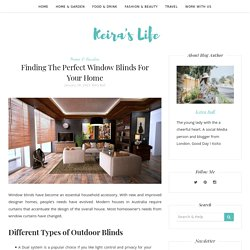 Finding The Perfect Window Blinds For Your Home