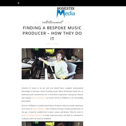 Finding a bespoke Music Producer – How they do it
