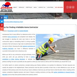 Tips for Finding a Reliable Home Contractor