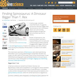 Finding Spinosaurus: A Dinosaur Bigger Than T. Rex