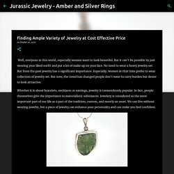 Finding Ample Variety of Jewelry at Cost Effective Price