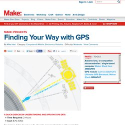 Finding Your Way with GPS