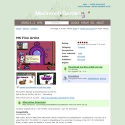 MS Fine Artist - Macintosh Garden