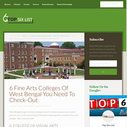 6 Fine Arts Colleges Of West Bengal You Need To Check-Out