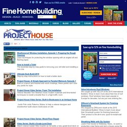 Finehomebuildings Project House: where best practices are put to the test