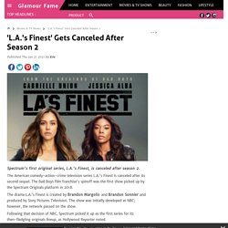 'L.A.'s Finest' Gets Canceled After Season 2
