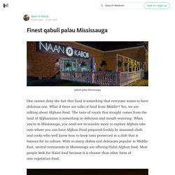 Finest qabuli palau Mississauga