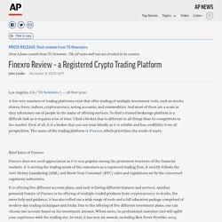 Finexro Review – a Registered Crypto Trading Platform