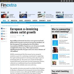 European e-invoicing shows solid growth