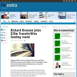 Richard Branson joins $25m TransferWise funding round