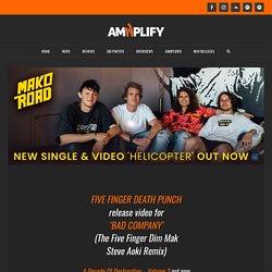 FIVE FINGER DEATH PUNCH release video for 'BAD COMPANY' (The Five Finger Dim Mak Steve Aoki Remix) -