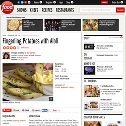 Fingerling Potatoes with Aioli Recipe : Ina Garten