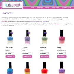 In The Mood - Fingernail Color Changing Nail Polish