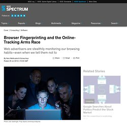 Browser Fingerprinting and the Online-Tracking Arms Race
