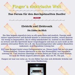 Fingers elektrische Welt Gallerie Den Zähler im Blick