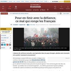 Conjoncture : Pour en finir avec la défiance, ce mal qui ronge les Français