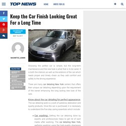 Keep the Car Finish Looking Great For a Long Time – Magnetoz