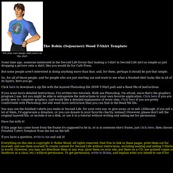 A free Finished T-Shirt Template for use in Second Life, by Robin (Sojourner) Wood